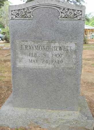 HEWETT, J RAYMOPND - Lafayette County, Arkansas | J RAYMOPND HEWETT - Arkansas Gravestone Photos
