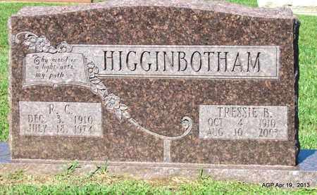 HIGGINBOTHAM, TRESSIE B. - Lafayette County, Arkansas | TRESSIE B. HIGGINBOTHAM - Arkansas Gravestone Photos