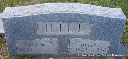 HILL, DELLA H - Lafayette County, Arkansas   DELLA H HILL - Arkansas Gravestone Photos