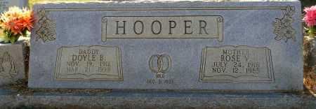 HOOPER, ROSE V - Lafayette County, Arkansas | ROSE V HOOPER - Arkansas Gravestone Photos