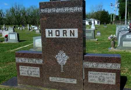 PILLBURY HORN, BERTIE - Lafayette County, Arkansas | BERTIE PILLBURY HORN - Arkansas Gravestone Photos