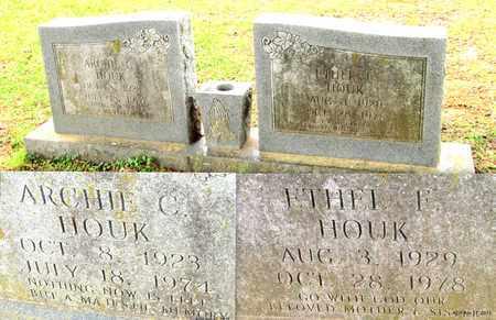 HOUK, ETHEL F - Lafayette County, Arkansas   ETHEL F HOUK - Arkansas Gravestone Photos
