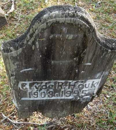 HOUK, CLYDE R - Lafayette County, Arkansas   CLYDE R HOUK - Arkansas Gravestone Photos