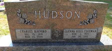 ELLIS HUDSON, GLENNA - Lafayette County, Arkansas   GLENNA ELLIS HUDSON - Arkansas Gravestone Photos