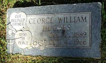 HUGHES, GEORGE WILLIAM - Lafayette County, Arkansas   GEORGE WILLIAM HUGHES - Arkansas Gravestone Photos