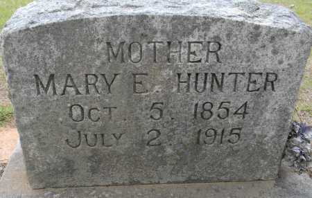 HUNTER, MARY E - Lafayette County, Arkansas   MARY E HUNTER - Arkansas Gravestone Photos