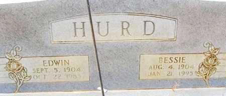 HURD, BESSIE - Lafayette County, Arkansas   BESSIE HURD - Arkansas Gravestone Photos