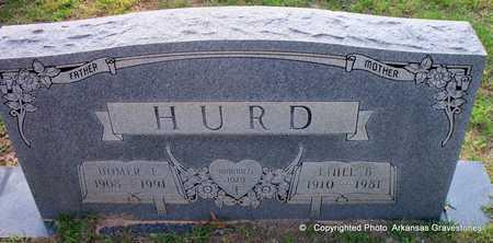 HURD, ETHEL B - Lafayette County, Arkansas   ETHEL B HURD - Arkansas Gravestone Photos