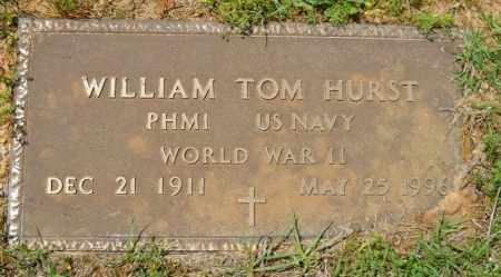 HURST (VETERAN WWII), WILLIAM TOM - Lafayette County, Arkansas | WILLIAM TOM HURST (VETERAN WWII) - Arkansas Gravestone Photos