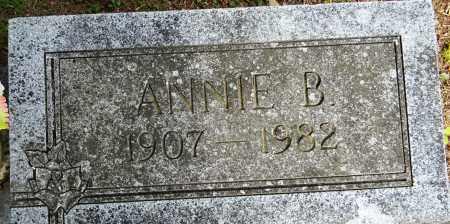 JACKSON, ANNIE B (CLOSEUP) - Lafayette County, Arkansas   ANNIE B (CLOSEUP) JACKSON - Arkansas Gravestone Photos