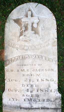 JACKSON, BETTIE P - Lafayette County, Arkansas | BETTIE P JACKSON - Arkansas Gravestone Photos