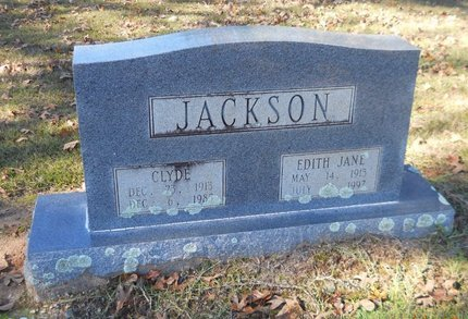 JACKSON, EDITH JANE - Lafayette County, Arkansas | EDITH JANE JACKSON - Arkansas Gravestone Photos