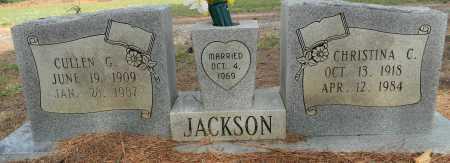 JACKSON, CHRISTINA C - Lafayette County, Arkansas | CHRISTINA C JACKSON - Arkansas Gravestone Photos