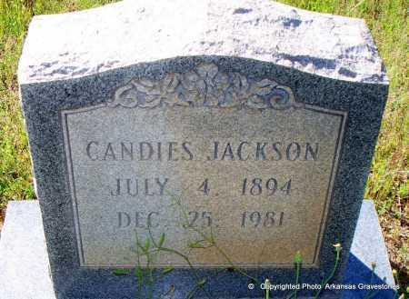 JACKSON, CANDIES - Lafayette County, Arkansas | CANDIES JACKSON - Arkansas Gravestone Photos