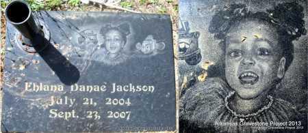 JACKSON, EHLANA DANAE' - Lafayette County, Arkansas | EHLANA DANAE' JACKSON - Arkansas Gravestone Photos