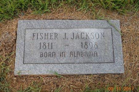 JACKSON, FISHER J - Lafayette County, Arkansas   FISHER J JACKSON - Arkansas Gravestone Photos