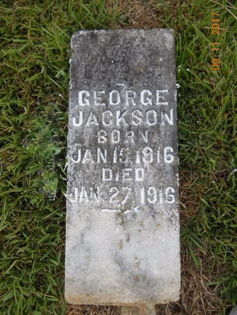JACKSON, GEORGE - Lafayette County, Arkansas   GEORGE JACKSON - Arkansas Gravestone Photos