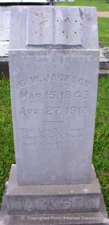 JACKSON, G W - Lafayette County, Arkansas | G W JACKSON - Arkansas Gravestone Photos