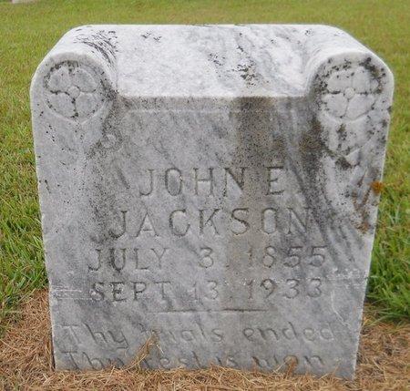 JACKSON, JOHN E - Lafayette County, Arkansas | JOHN E JACKSON - Arkansas Gravestone Photos