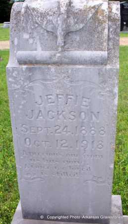 JACKSON, JEFFIE - Lafayette County, Arkansas   JEFFIE JACKSON - Arkansas Gravestone Photos