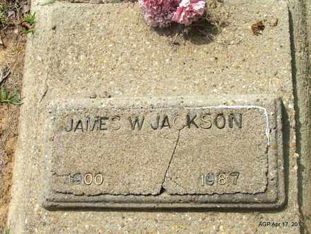JACKSON, JAMES W. - Lafayette County, Arkansas   JAMES W. JACKSON - Arkansas Gravestone Photos