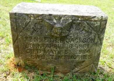 JACKSON, KENNETH B - Lafayette County, Arkansas   KENNETH B JACKSON - Arkansas Gravestone Photos