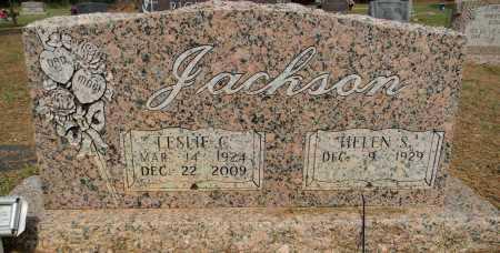 JACKSON, LESLIE C - Lafayette County, Arkansas | LESLIE C JACKSON - Arkansas Gravestone Photos