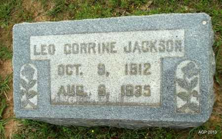 JACKSON, LEO CORRINE - Lafayette County, Arkansas   LEO CORRINE JACKSON - Arkansas Gravestone Photos