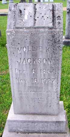 JACKSON, MOLLIE K - Lafayette County, Arkansas | MOLLIE K JACKSON - Arkansas Gravestone Photos