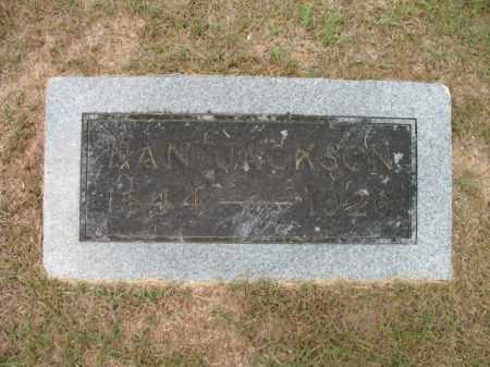 JACKSON, NAN - Lafayette County, Arkansas   NAN JACKSON - Arkansas Gravestone Photos