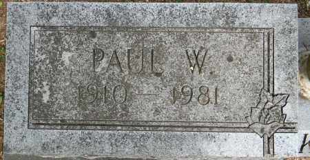 JACKSON, PAUL W (CLOSEUP) - Lafayette County, Arkansas | PAUL W (CLOSEUP) JACKSON - Arkansas Gravestone Photos