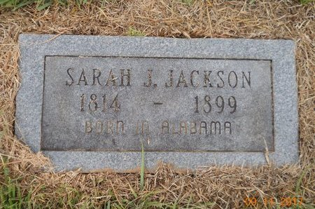 JACKSON, SARAH J - Lafayette County, Arkansas   SARAH J JACKSON - Arkansas Gravestone Photos