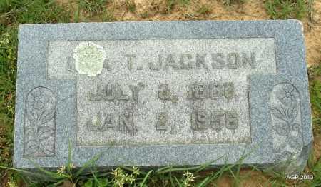 JACKSON, UNA T - Lafayette County, Arkansas | UNA T JACKSON - Arkansas Gravestone Photos