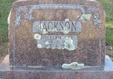 JACKSON, WILLIAM LEE - Lafayette County, Arkansas   WILLIAM LEE JACKSON - Arkansas Gravestone Photos