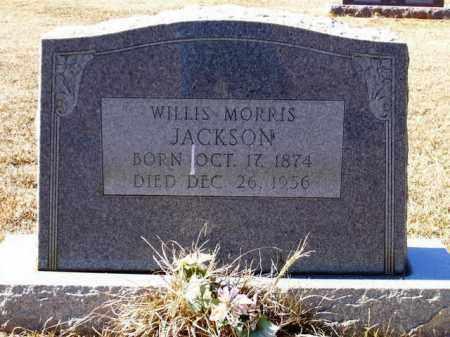 JACKSON, WILLIS MORRIS - Lafayette County, Arkansas | WILLIS MORRIS JACKSON - Arkansas Gravestone Photos