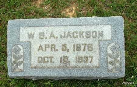 JACKSON, WILLIAM S A - Lafayette County, Arkansas | WILLIAM S A JACKSON - Arkansas Gravestone Photos