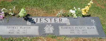 JESTER, SR, THOMAS MARION - Lafayette County, Arkansas | THOMAS MARION JESTER, SR - Arkansas Gravestone Photos