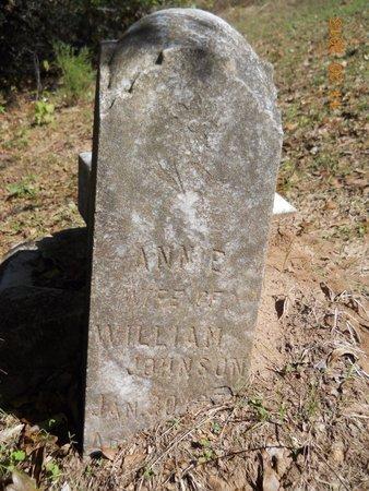 JOHNSON, ANNIE - Lafayette County, Arkansas   ANNIE JOHNSON - Arkansas Gravestone Photos