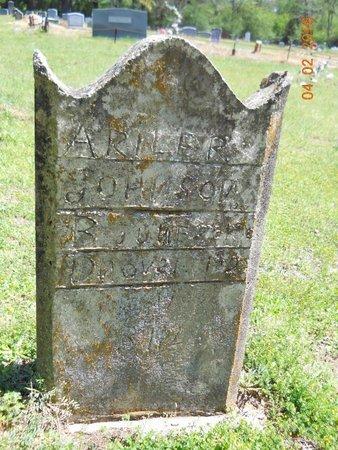 JOHNSON, ARILER - Lafayette County, Arkansas   ARILER JOHNSON - Arkansas Gravestone Photos