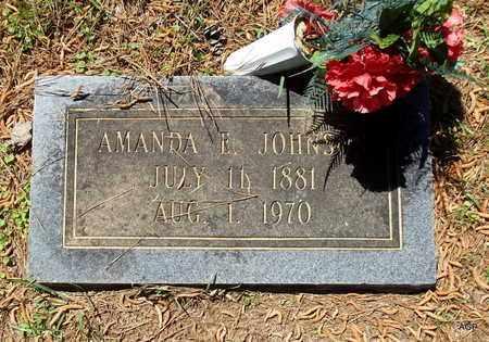 JOHNSON, AMANDA E - Lafayette County, Arkansas | AMANDA E JOHNSON - Arkansas Gravestone Photos