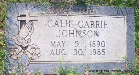 JOHNSON, CALLIE CARRIE - Lafayette County, Arkansas   CALLIE CARRIE JOHNSON - Arkansas Gravestone Photos