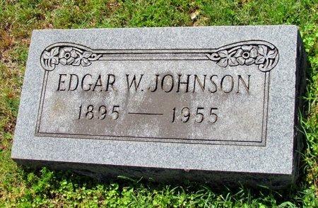 JOHNSON, EDGAR W. - Lafayette County, Arkansas | EDGAR W. JOHNSON - Arkansas Gravestone Photos