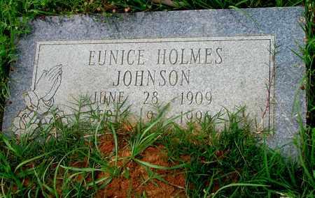 HOLMES JOHNSON, EUNICE - Lafayette County, Arkansas | EUNICE HOLMES JOHNSON - Arkansas Gravestone Photos