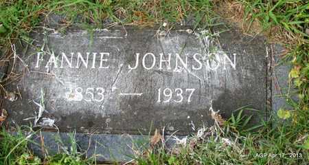 JOHNSON, FANNIE - Lafayette County, Arkansas   FANNIE JOHNSON - Arkansas Gravestone Photos