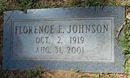 JOHNSON, FLORENCE E - Lafayette County, Arkansas   FLORENCE E JOHNSON - Arkansas Gravestone Photos