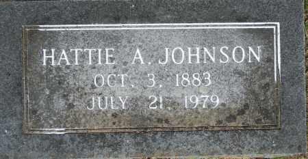 JOHNSON, HATTIE A - Lafayette County, Arkansas   HATTIE A JOHNSON - Arkansas Gravestone Photos