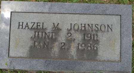 JOHNSON, HAZEL M - Lafayette County, Arkansas | HAZEL M JOHNSON - Arkansas Gravestone Photos