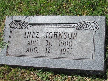 JOHNSON, INEZ - Lafayette County, Arkansas   INEZ JOHNSON - Arkansas Gravestone Photos