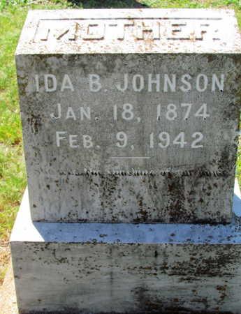 JOHNSON, IDA B - Lafayette County, Arkansas | IDA B JOHNSON - Arkansas Gravestone Photos