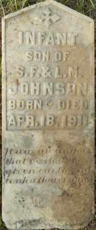 JOHNSON, INFANT SON - Lafayette County, Arkansas   INFANT SON JOHNSON - Arkansas Gravestone Photos
